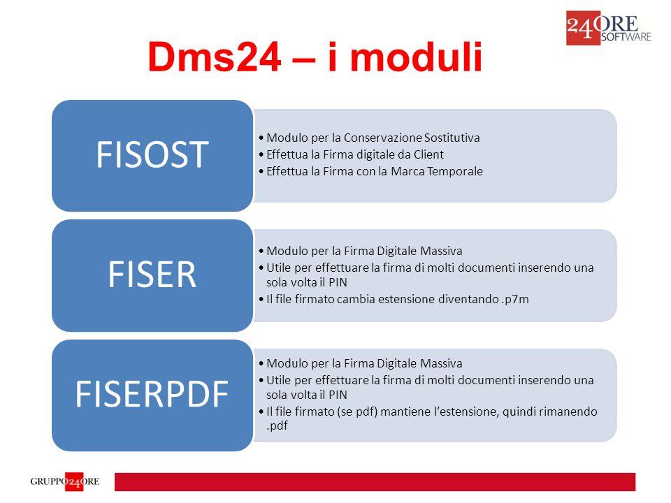Dms24 – i moduli FISOST Modulo per la Conservazione Sostitutiva