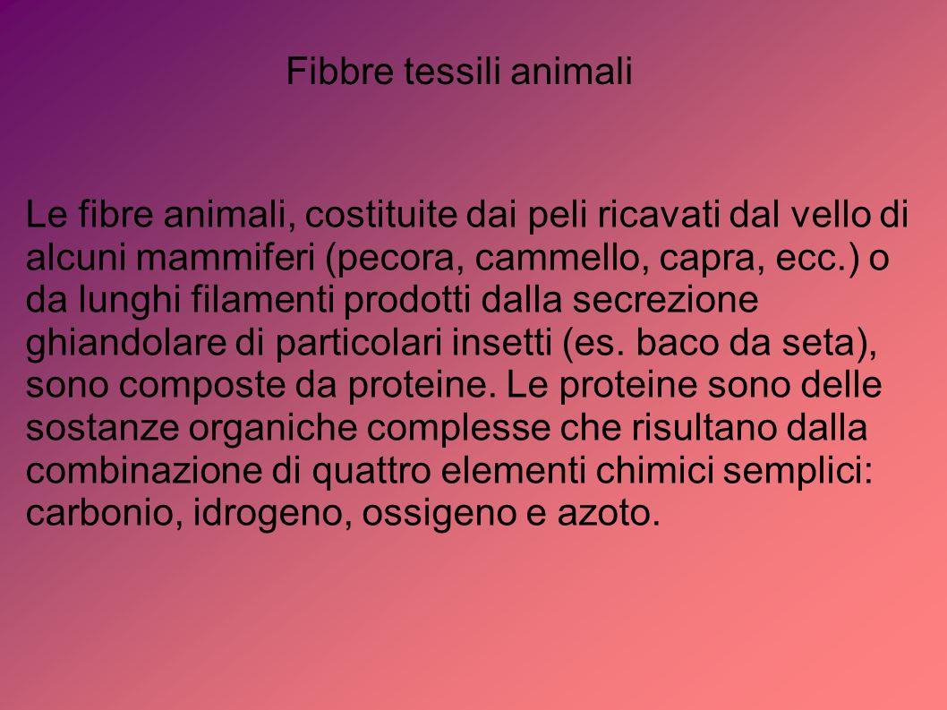 Fibbre tessili animali