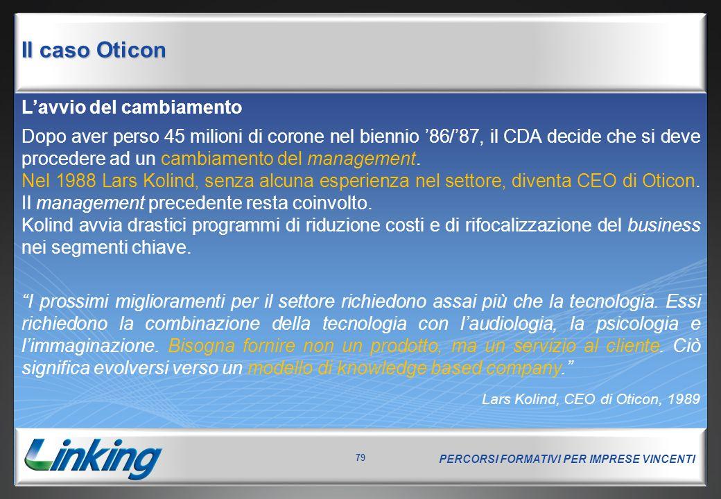 Il caso Oticon La Spaghetti Organisation