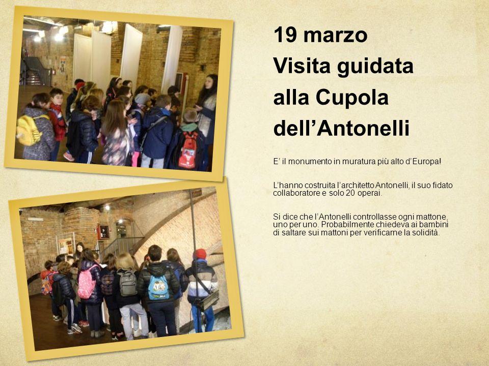19 marzo Visita guidata alla Cupola dell'Antonelli