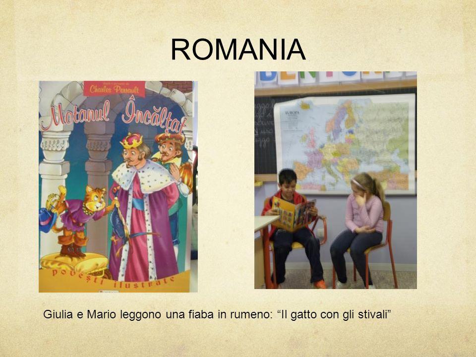 ROMANIA Giulia e Mario leggono una fiaba in rumeno: Il gatto con gli stivali