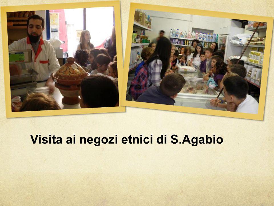 Visita ai negozi etnici di S.Agabio