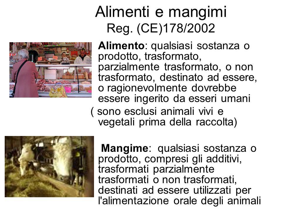 Alimenti e mangimi Reg. (CE)178/2002