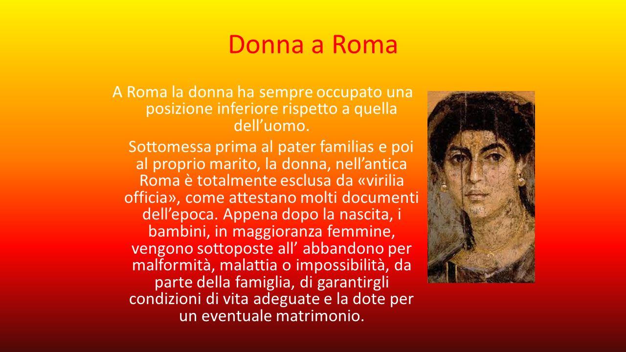 Donna a Roma