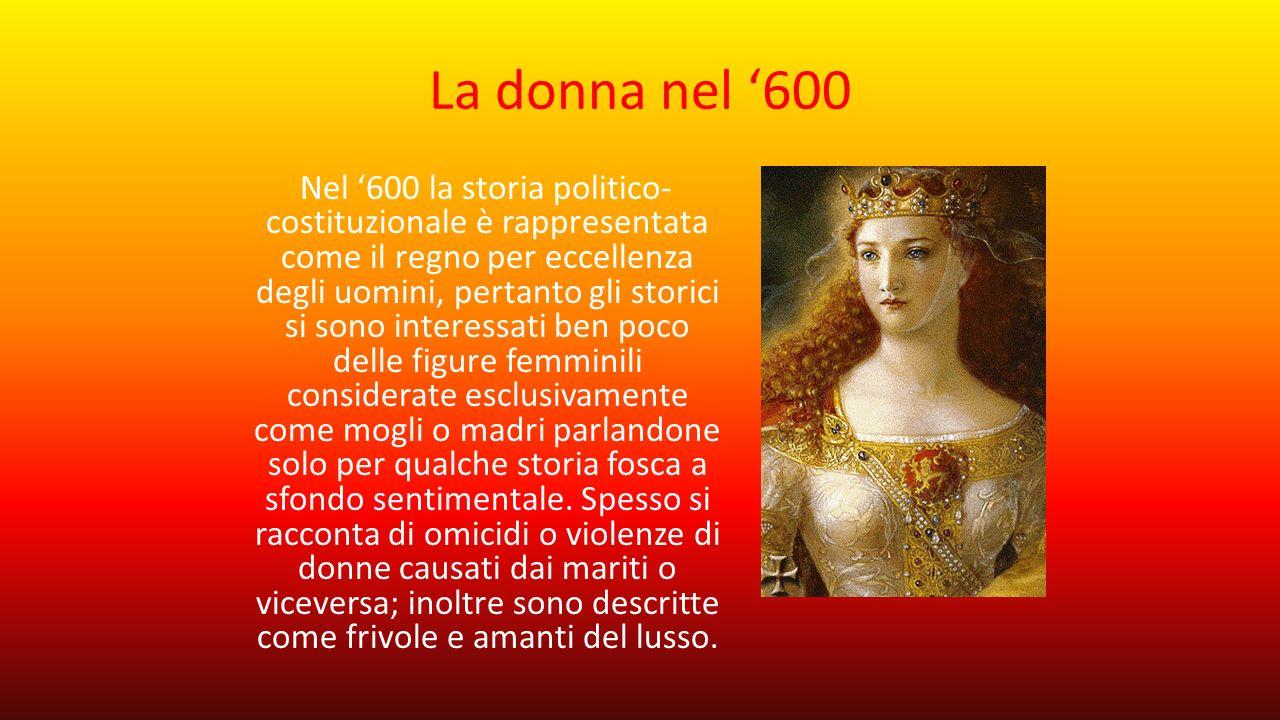 La donna nel '600