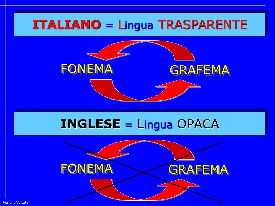 ITALIANO = Lingua TRASPARENTE