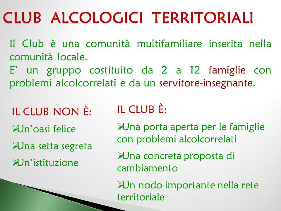 CLUB ALCOLOGICI TERRITORIALI