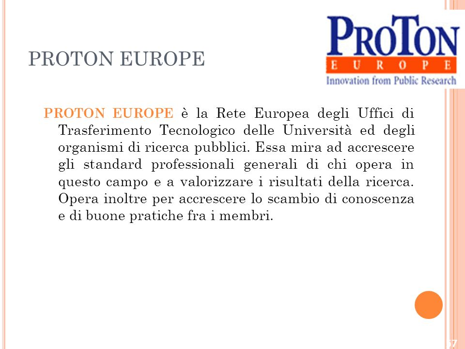 PROTON EUROPE