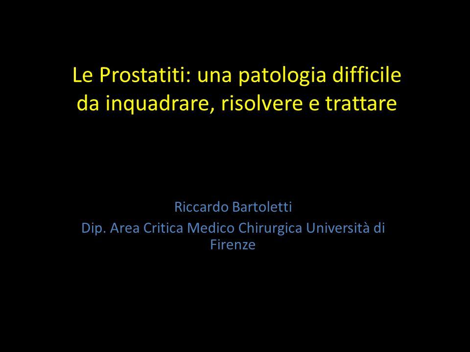 Dip. Area Critica Medico Chirurgica Università di Firenze