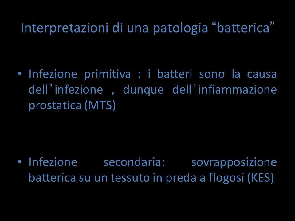 Interpretazioni di una patologia batterica