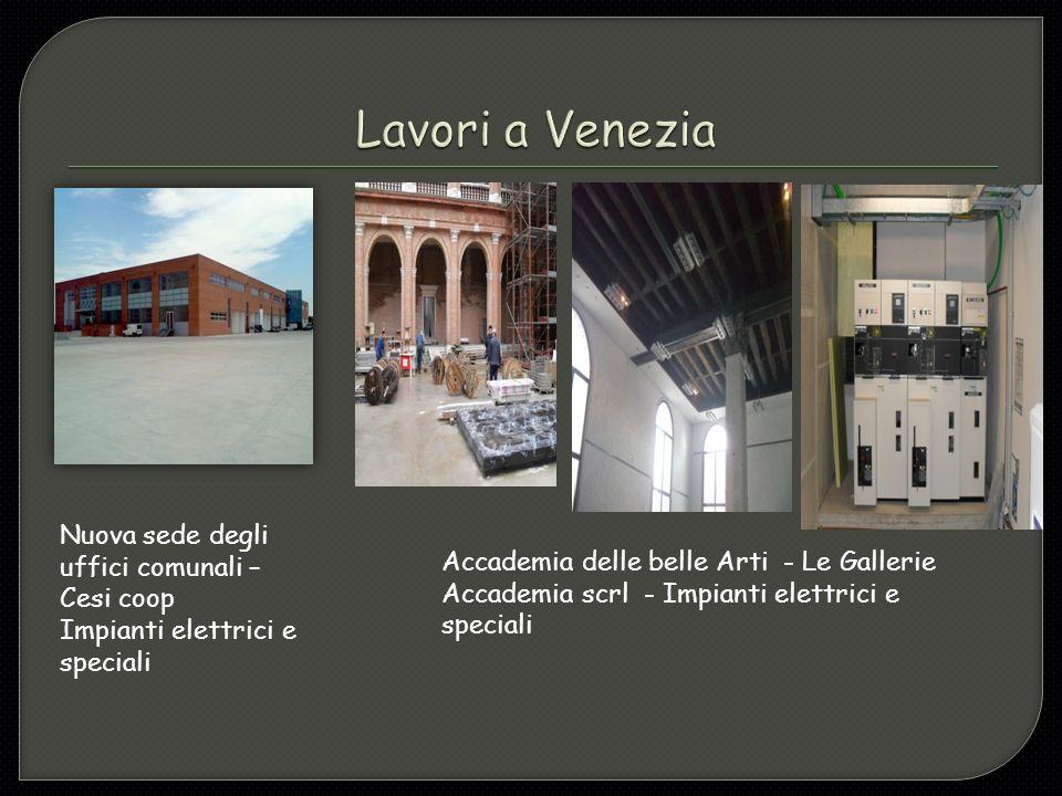 Lavori a Venezia Nuova sede degli uffici comunali – Cesi coop