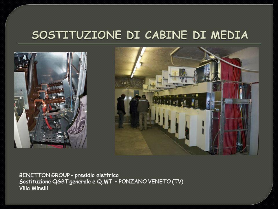 SOSTITUZIONE DI CABINE DI MEDIA