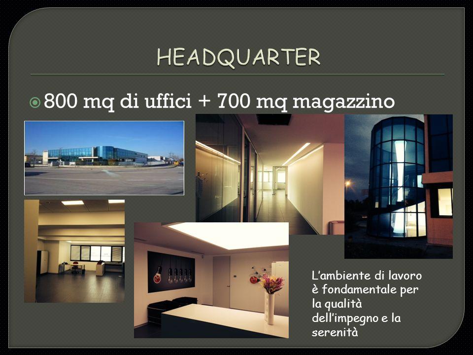 800 mq di uffici + 700 mq magazzino
