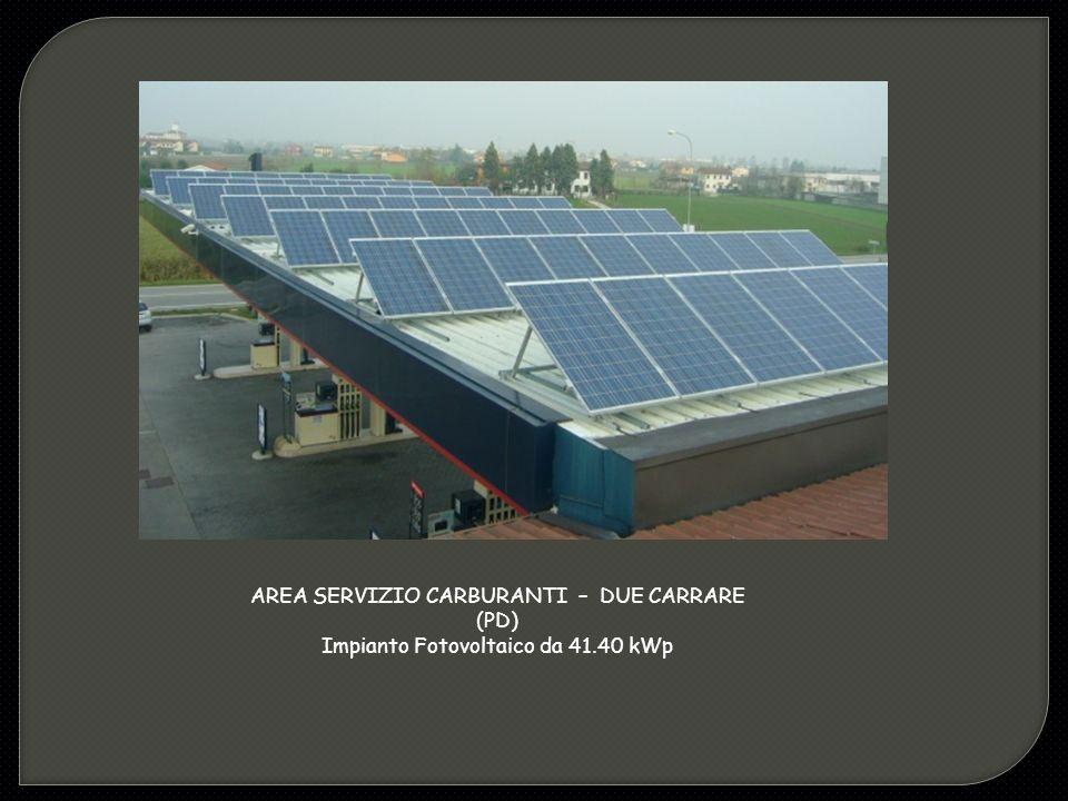 AREA SERVIZIO CARBURANTI – DUE CARRARE (PD)