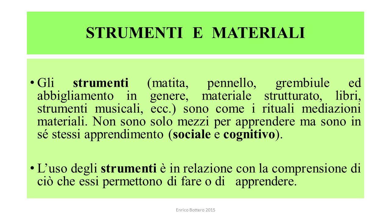 STRUMENTI E MATERIALI