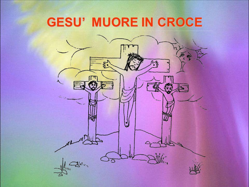 GESU' MUORE IN CROCE