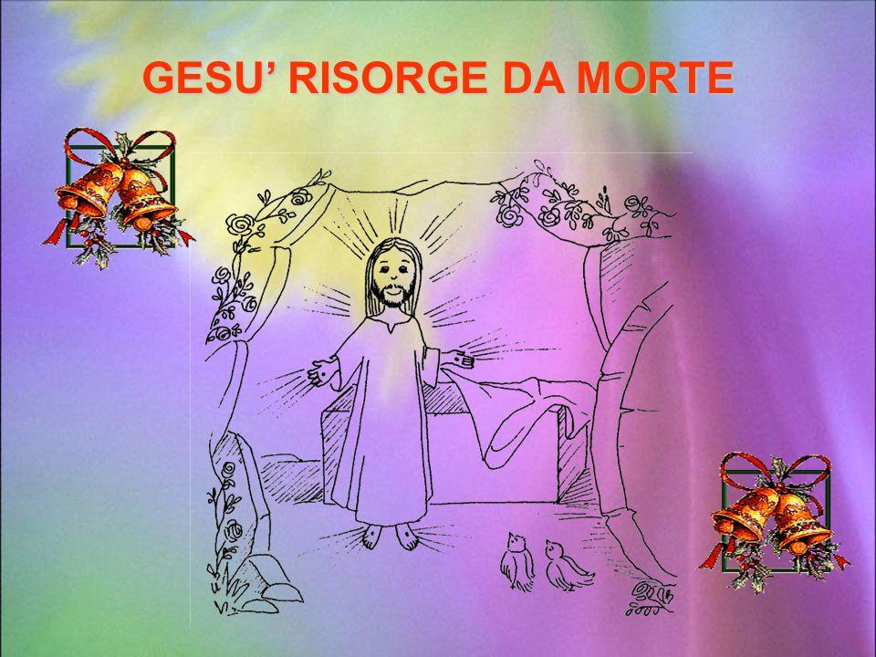 GESU' RISORGE DA MORTE