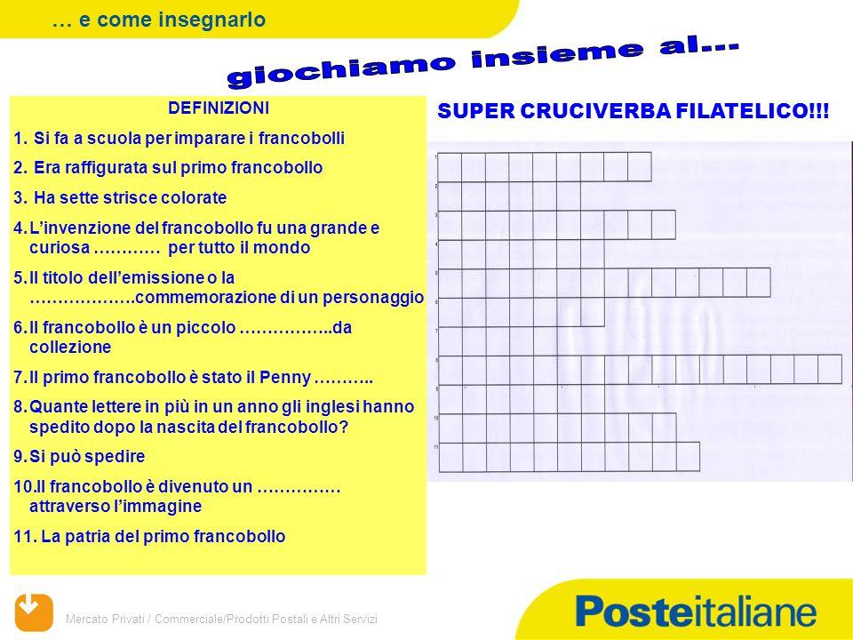 SUPER CRUCIVERBA FILATELICO!!!