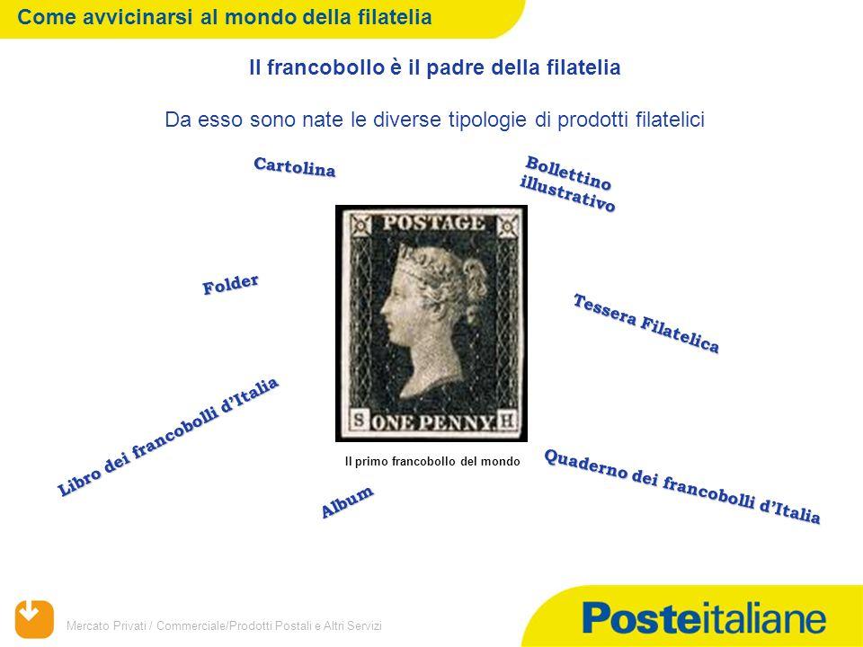 Il francobollo è il padre della filatelia
