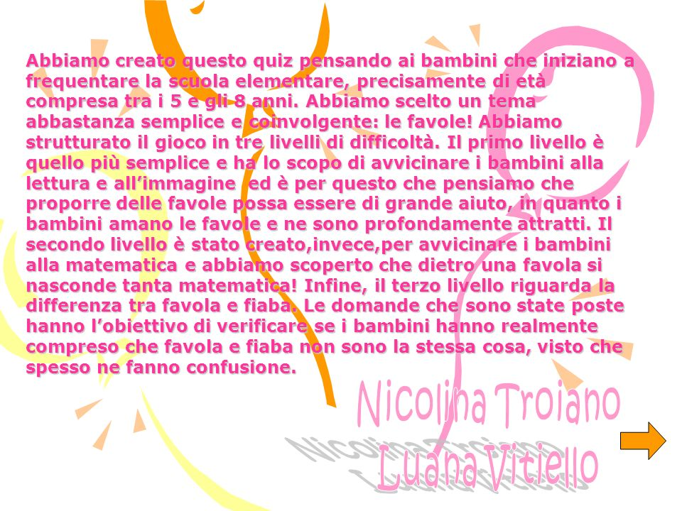 Nicolina Troiano Luana Vitiello