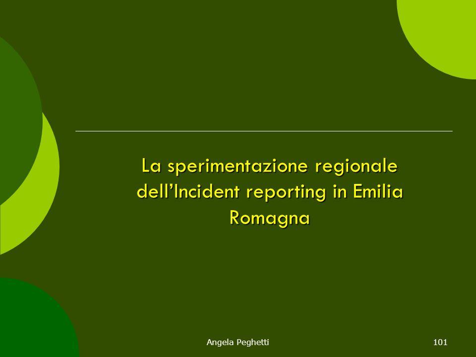 La sperimentazione regionale dell'Incident reporting in Emilia Romagna