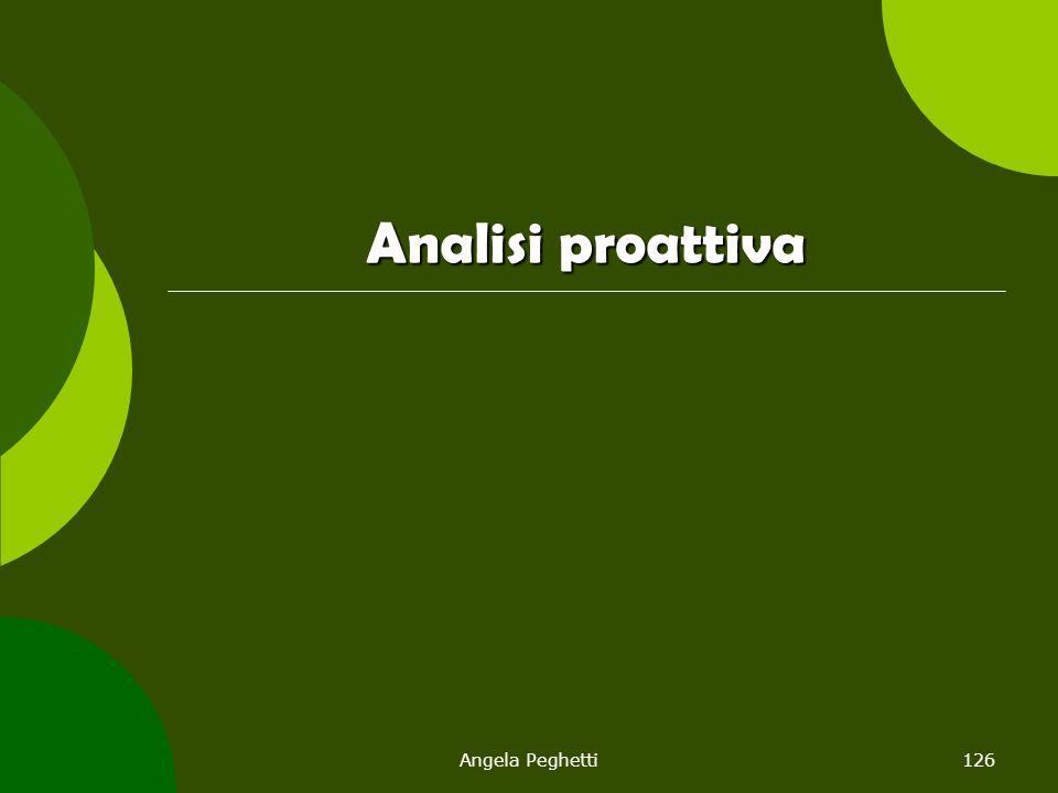 Analisi proattiva Angela Peghetti