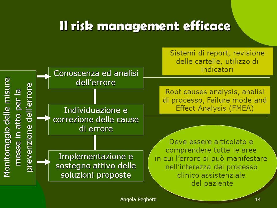 Il risk management efficace