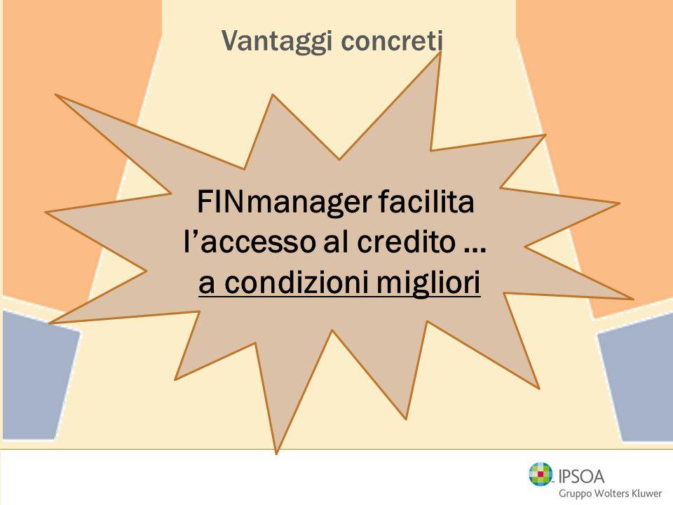 FINmanager facilita l'accesso al credito …
