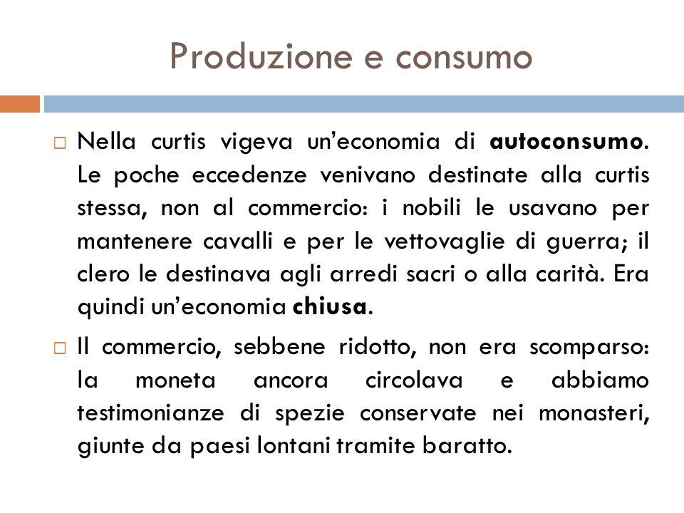 Produzione e consumo