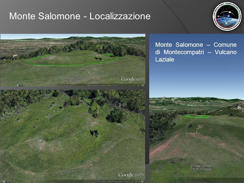 Monte Salomone - Localizzazione