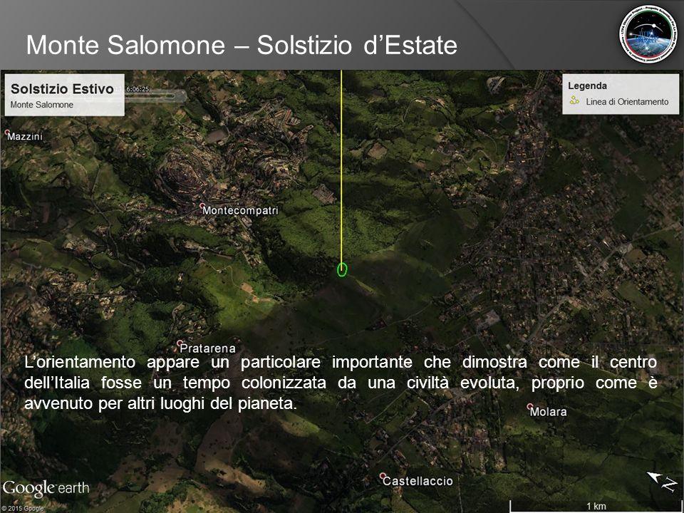 Monte Salomone – Solstizio d'Estate
