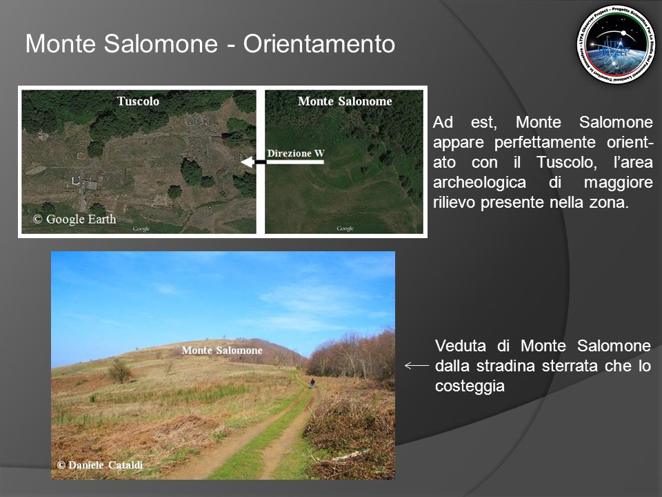 Monte Salomone - Orientamento