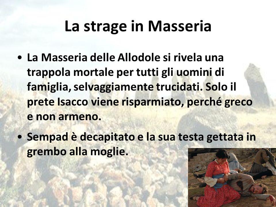 La strage in Masseria