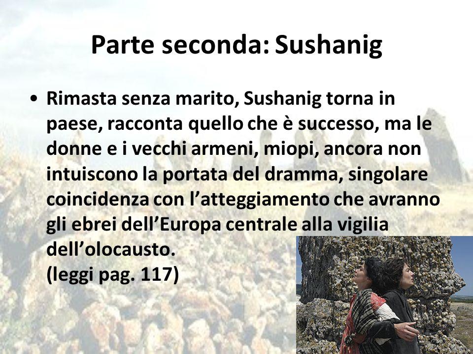 Parte seconda: Sushanig