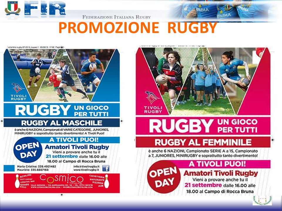 PROMOZIONE RUGBY