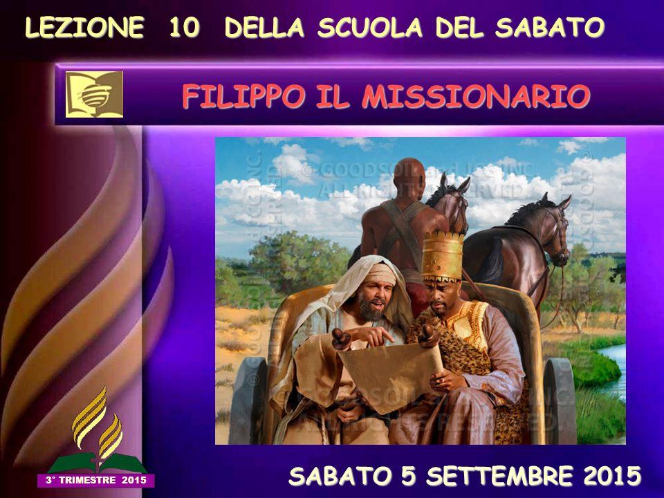 FILIPPO IL MISSIONARIO