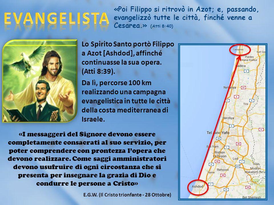 «Poi Filippo si ritrovò in Azot; e, passando,