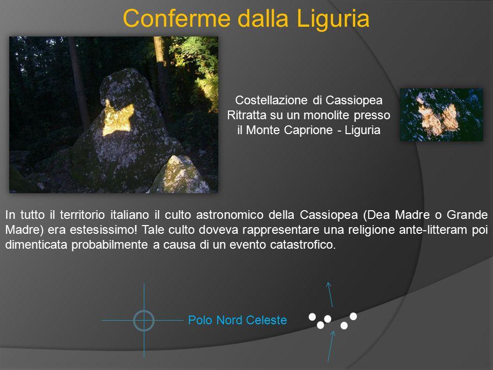 Conferme dalla Liguria