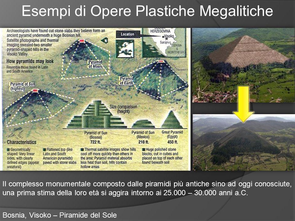 Esempi di Opere Plastiche Megalitiche