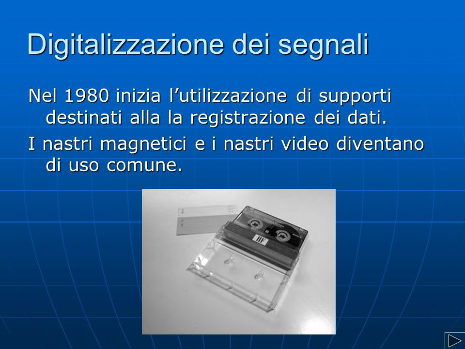 Digitalizzazione dei segnali