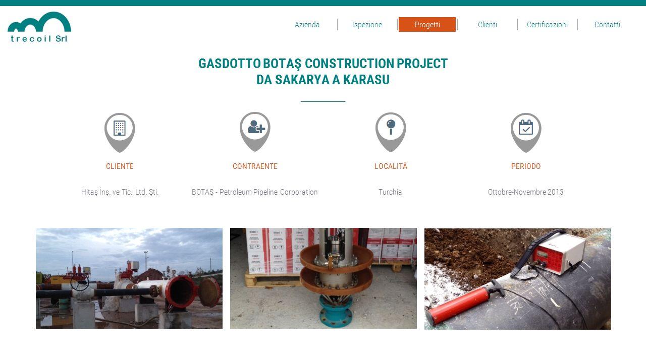 GASDOTTO BOTAŞ CONSTRUCTION PROJECT