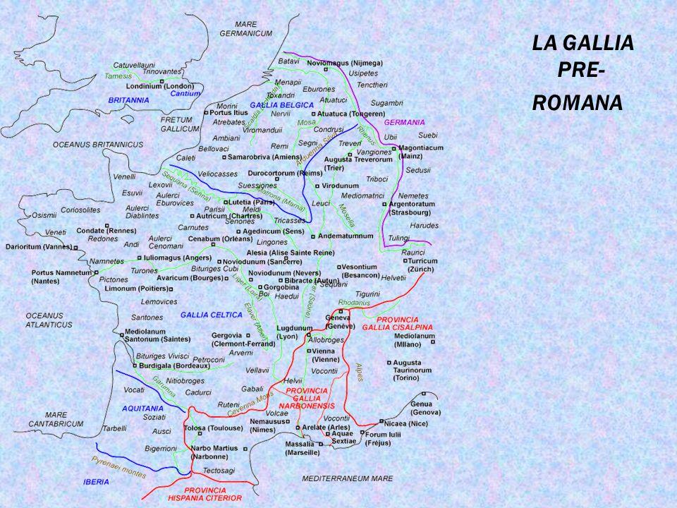 LA GALLIA PRE- ROMANA