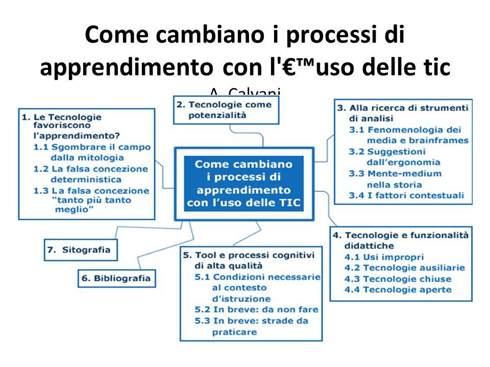 Come cambiano i processi di apprendimento con l €™uso delle tic A