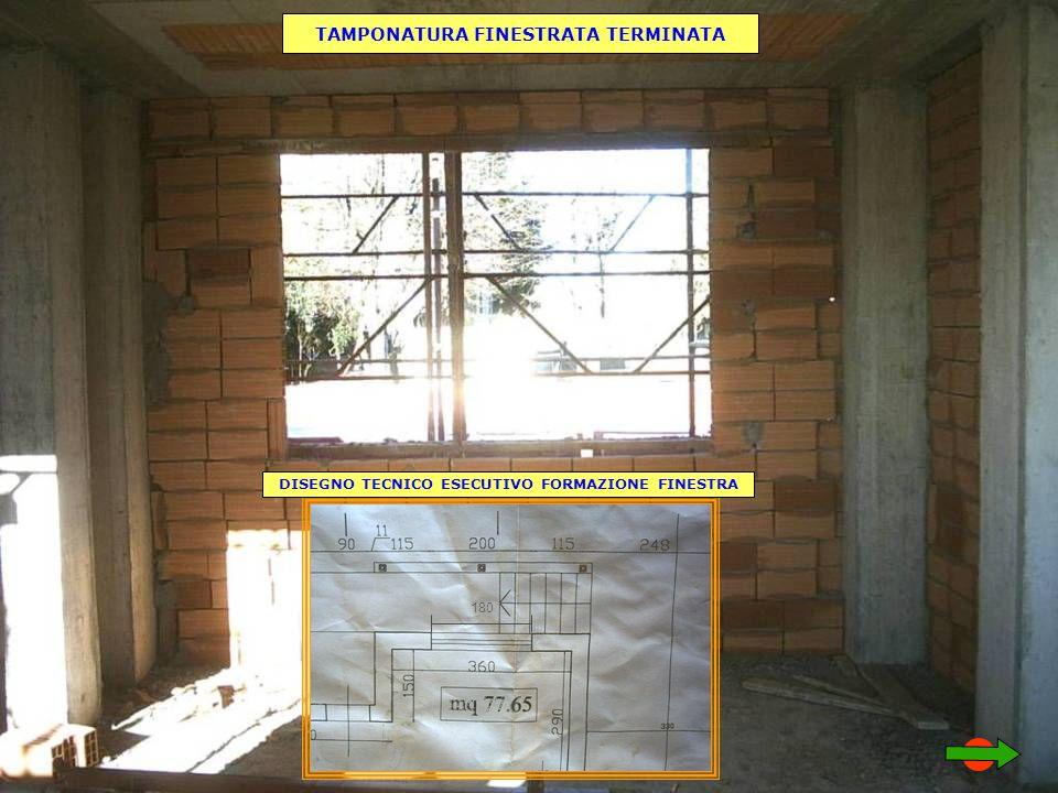 TAMPONATURA FINESTRATA TERMINATA