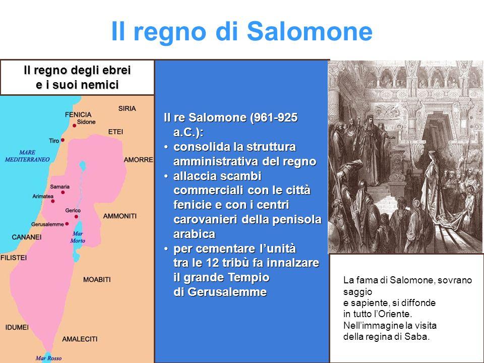 Il regno di Salomone Il regno degli ebrei e i suoi nemici