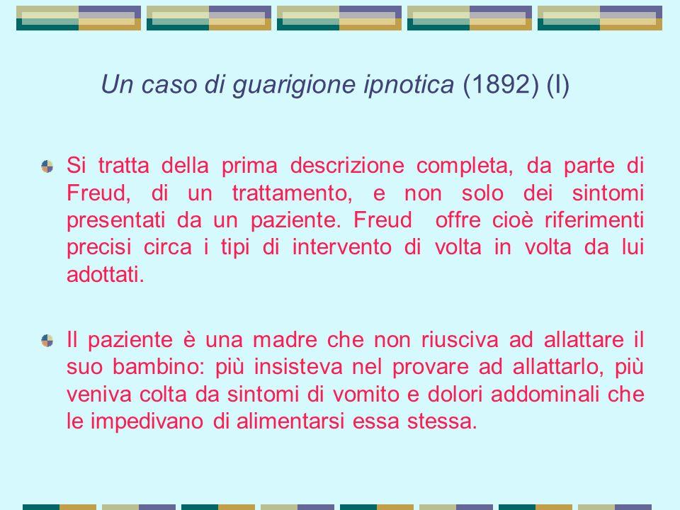 Un caso di guarigione ipnotica (1892) (I)
