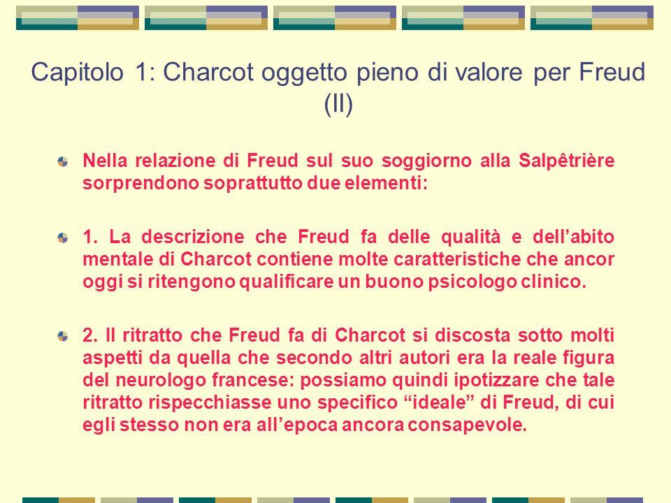 Capitolo 1: Charcot oggetto pieno di valore per Freud (II)