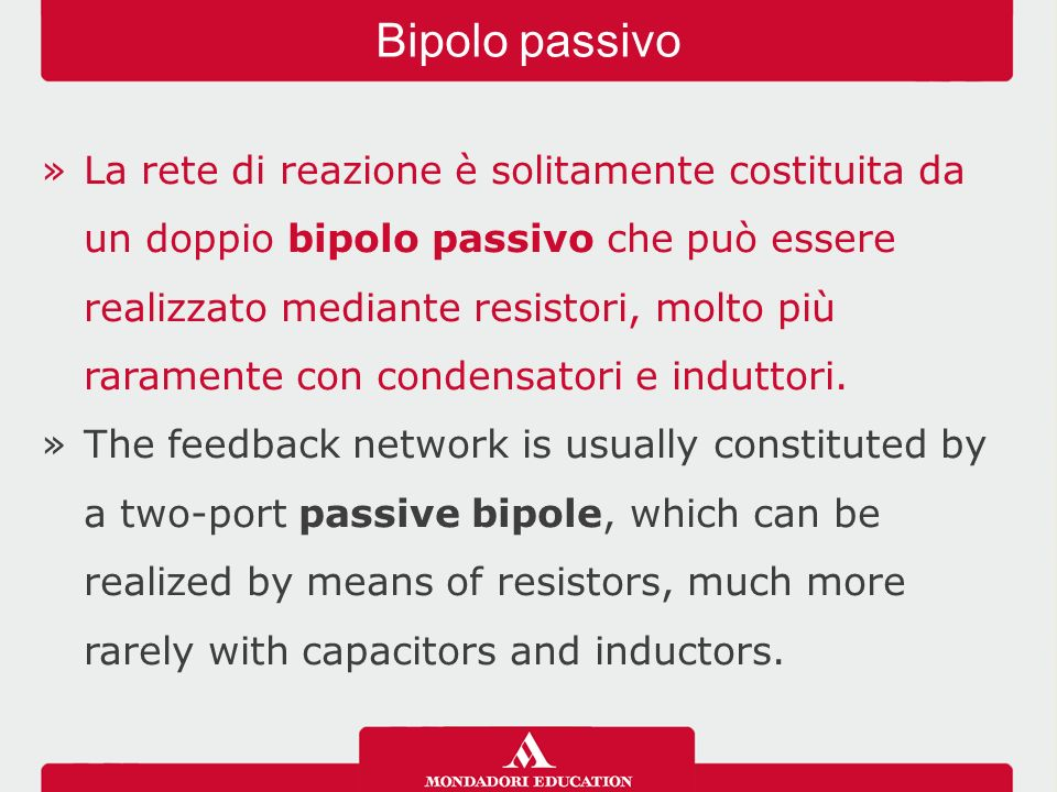 Bipolo passivo