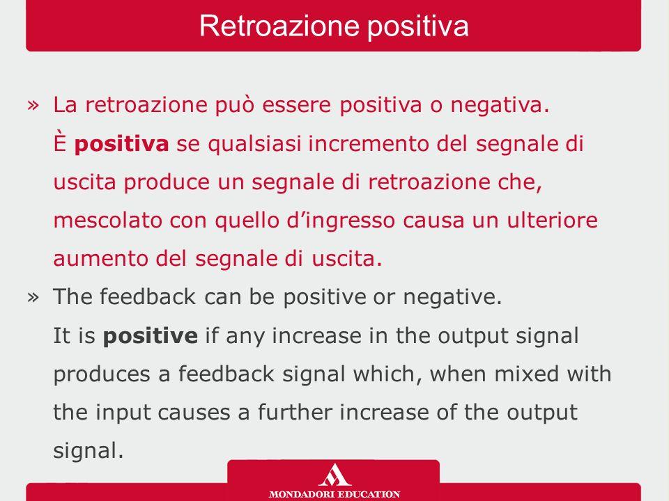 Retroazione positiva