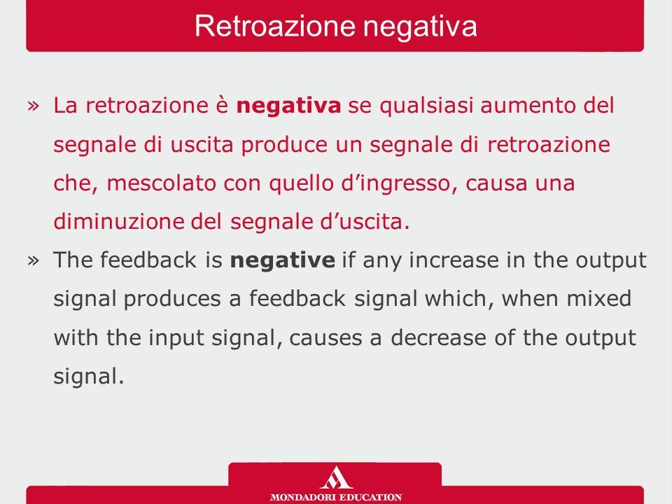 Retroazione negativa